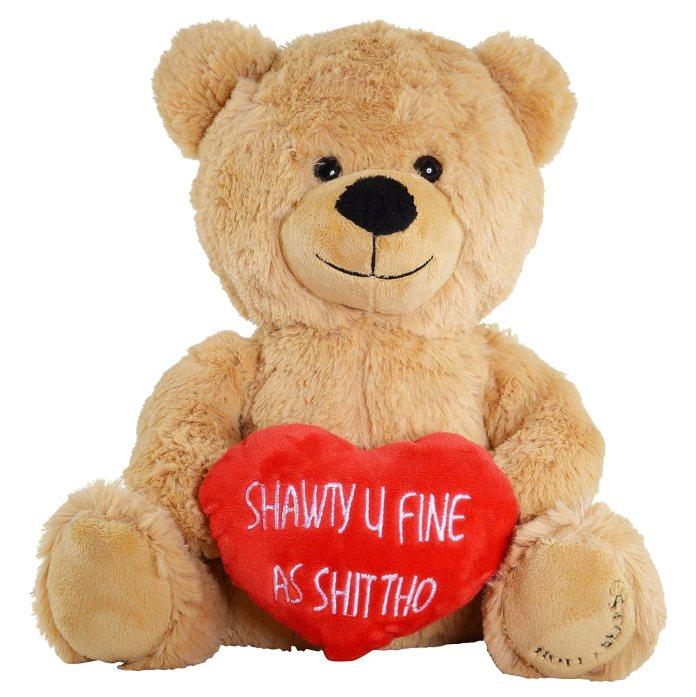 Hollabears Shawty U Fine As Shit Tho Teddy Bear