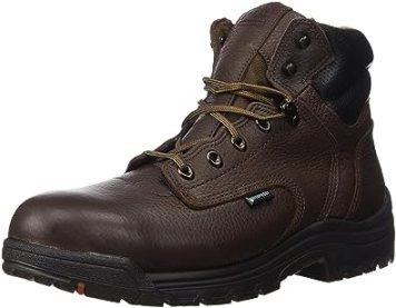 "Timberland PRO Men's 26078 Titan 6"" Waterproof Safety-Toe Work Boot,Dark Mocha,10.5 M"