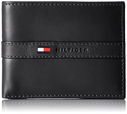 Image result for Tommy Hilfiger Men's Ranger Leather Passcase Wallet