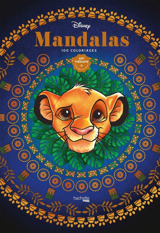 Art-thérapie Disney Mandalas: 29 coloriages : Bertrand, Aurélia