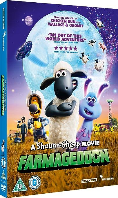 Amazon.com: A Shaun The Sheep Movie: Farmageddon [DVD] [2019]: Movies & TV