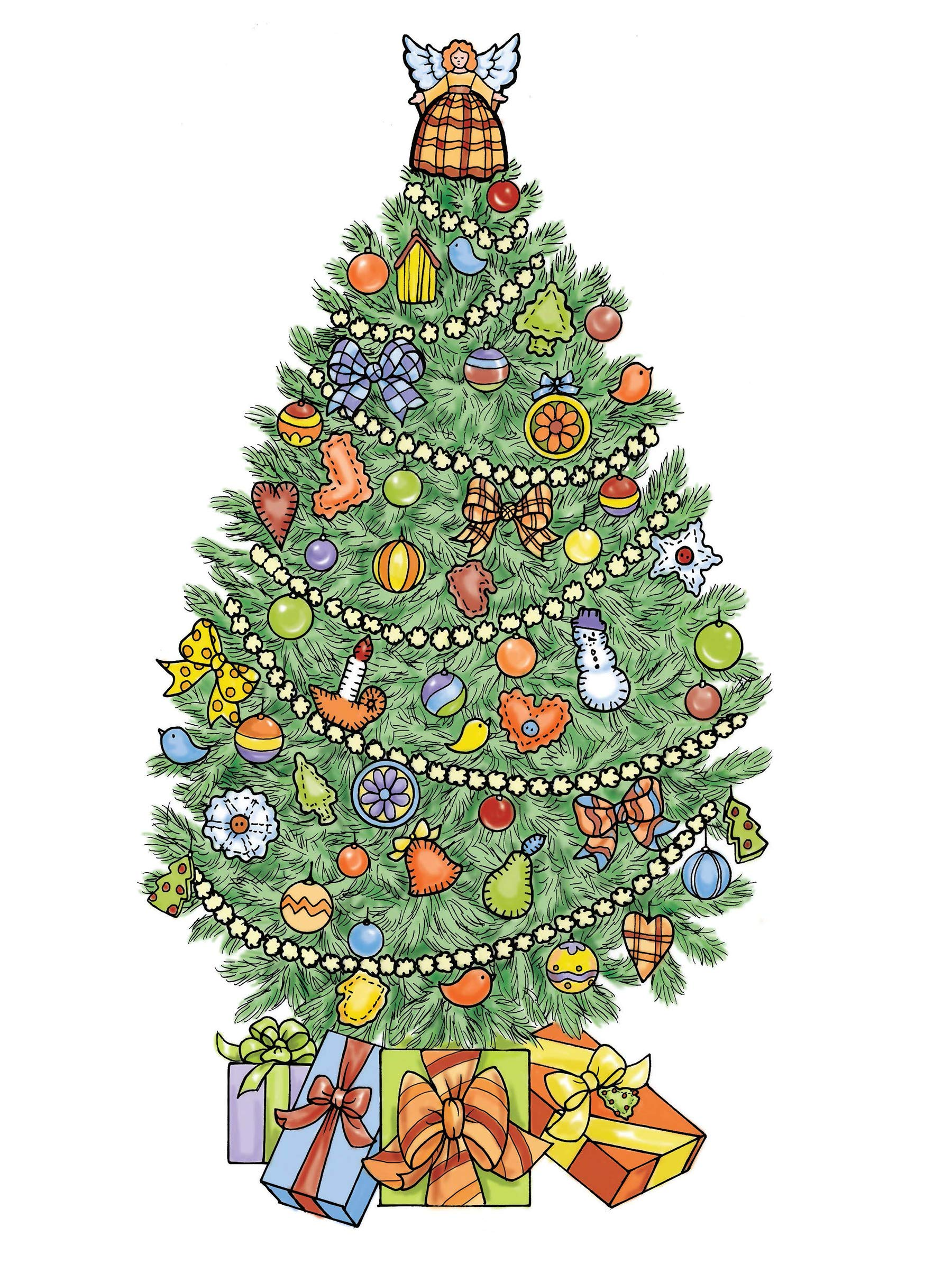 Creative Haven Christmas Trees Coloring Book Creative Haven Coloring Books Amazon Co Uk Lanza Barbara 0800759803903 Books