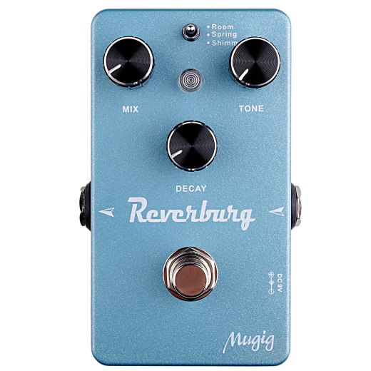 Mugig Reverburg Guitar Effect Pedal
