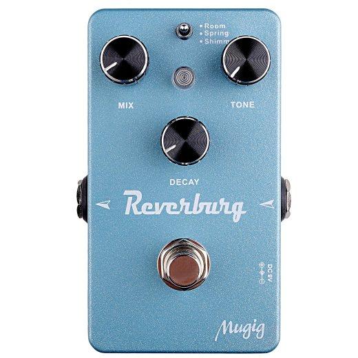 Mugig Reverburg Guitar Effect Pedal