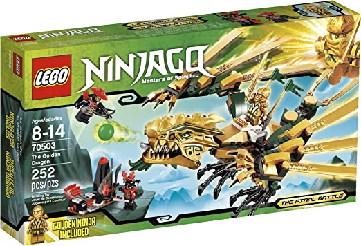Amazon Com Lego Ninjago The Golden Dragon 70503 Discontinued By Manufacturer Toys Games