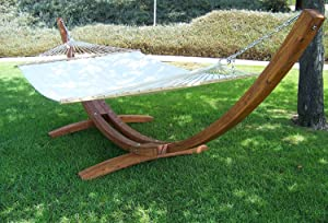 xx sunbrella hammock studio quilted large brown person stand dfohome with teak essentials