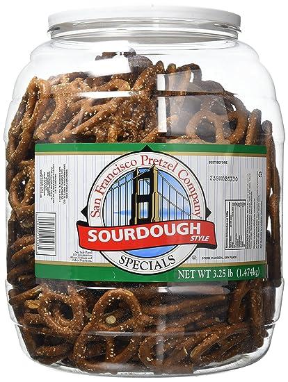 San Francisco Sourdough Pretzels 1.47kg Jar