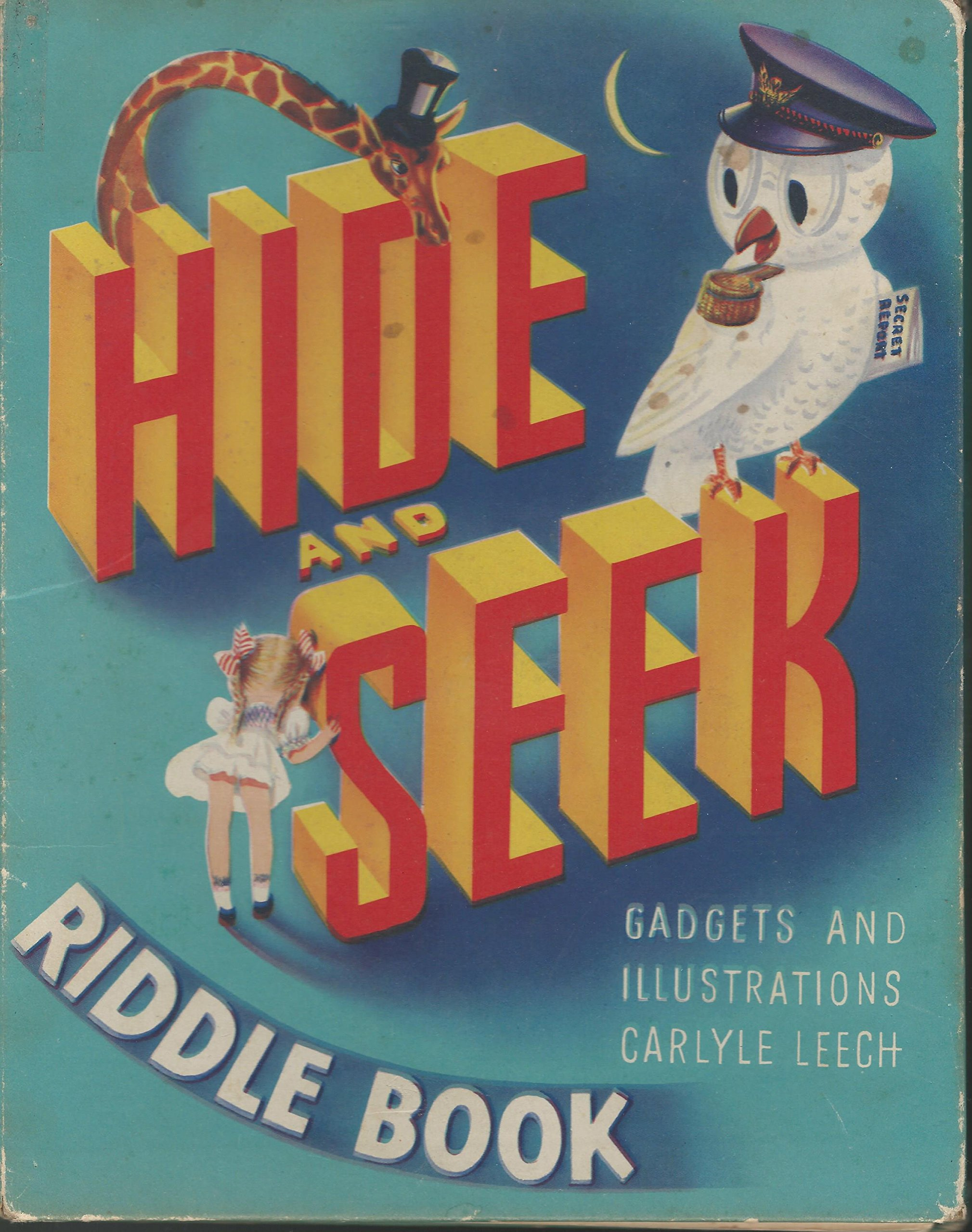 Hide Seek Riddle Book Carlyle Mckenna John Leech