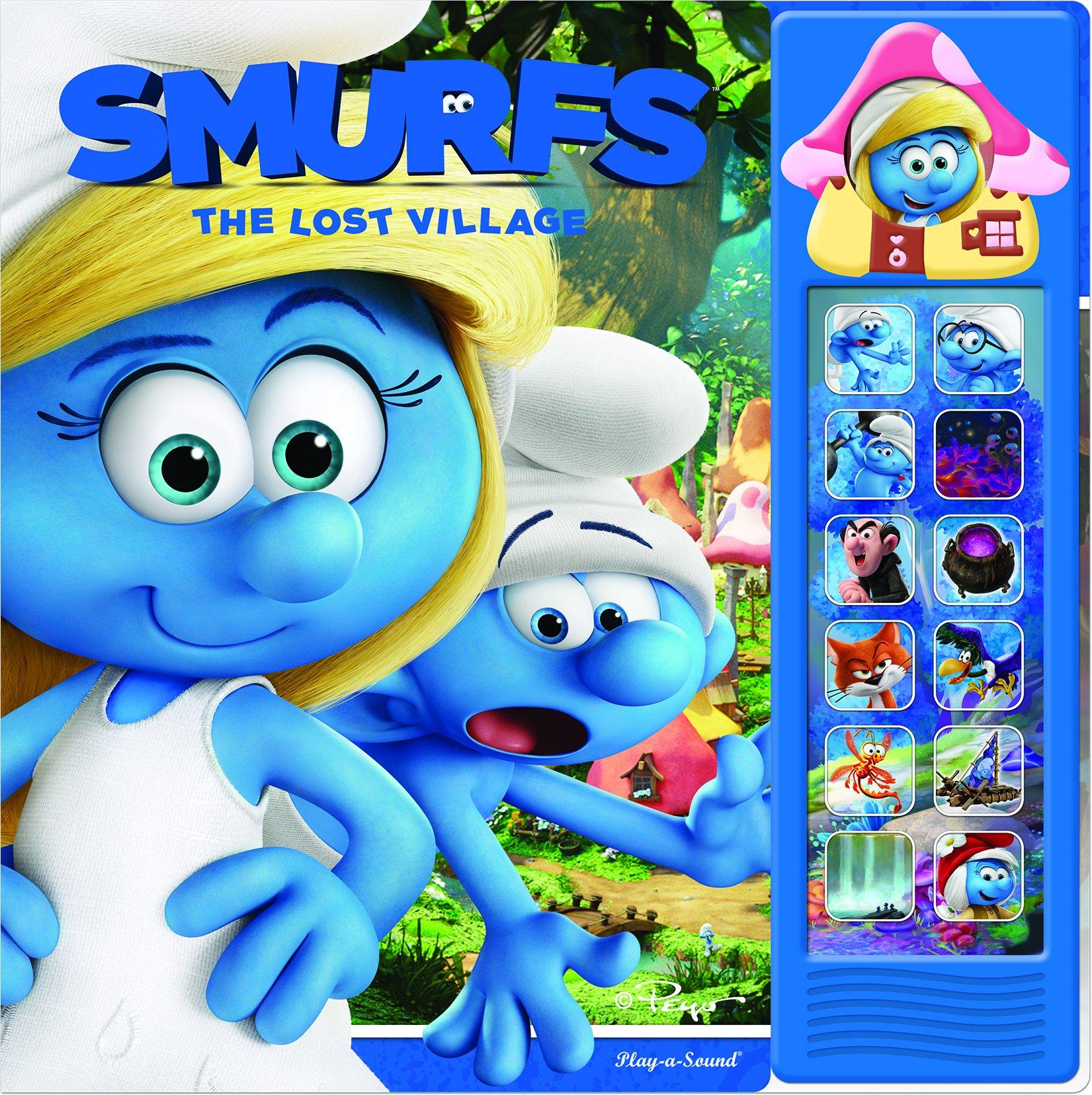 Smurfs 3 Mini Deluxe Custom Frame The Lost Village Pi Kids Phoenix Editors 9781503715912 Amazon Com Books