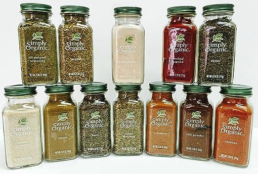 Simply Organic Spice Set