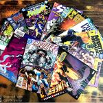 Set of 10 Comics Books By DC Comics and Marvel Comics   Assorted Selection  