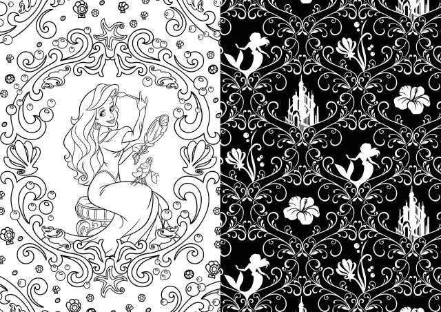 Art of Coloring Disney Princess: 29 Images to Inspire Creativity