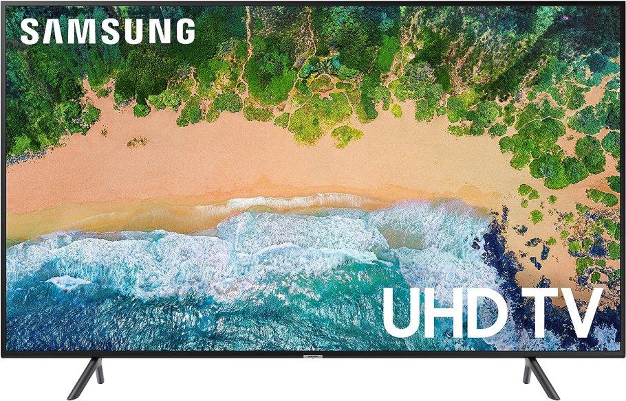 "Samsung 58NU7100 Flat 58"" 4K UHD 7 Series Smart TV 2018"
