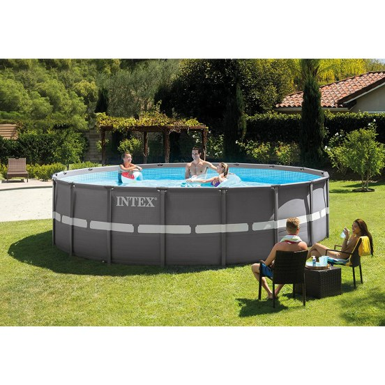 Intex 18ft X 52in Ultra Frame Pool SetBlack Friday Deal 2019