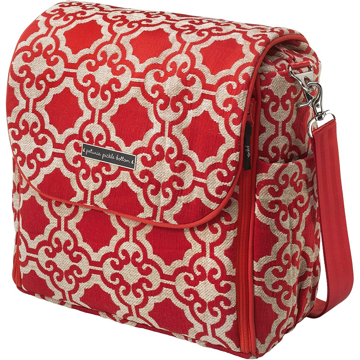 Petunia Pickle Bottom Boxy Backpack Diaper Bag in Persimmon Spice