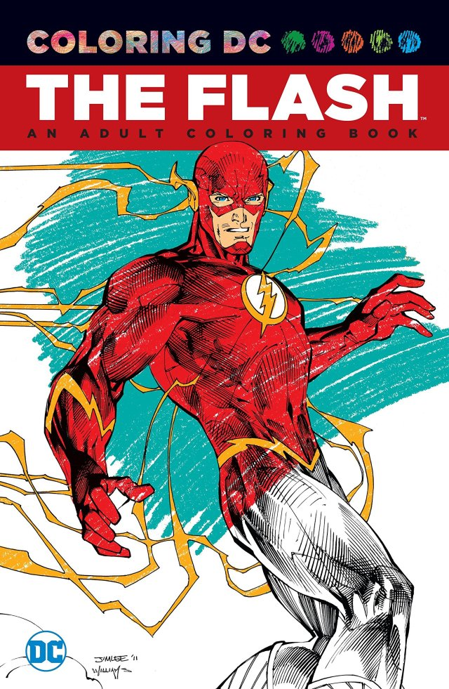 The Flash: An Adult Coloring Book (Coloring DC): Various
