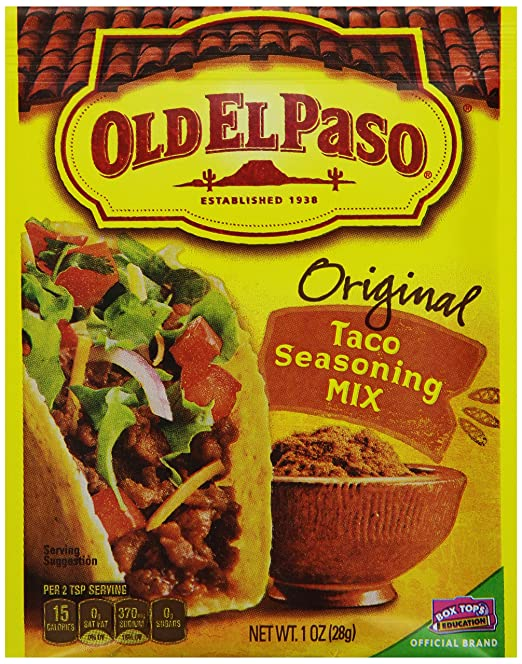 Old El Paso Seasoning Mix, 1 Ounce