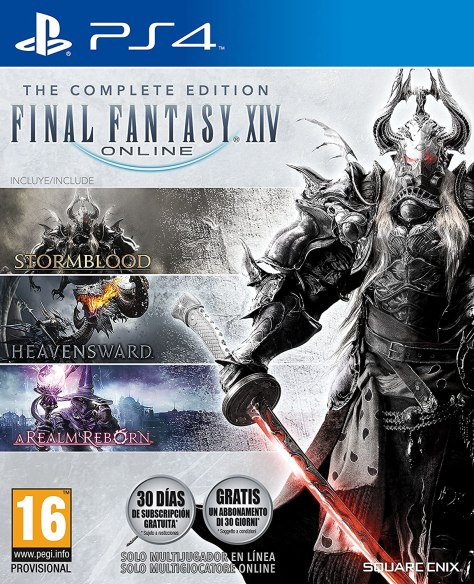 Final Fantasy XIV The Complete Edition – PlayStation 4