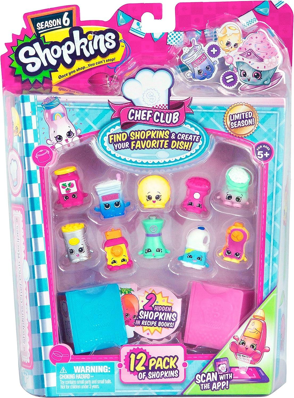 Amazon Com Shopkins Season 6 12 Pack Toys Games