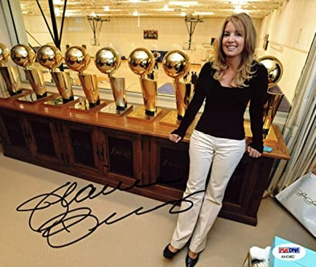 Amazon Com Lakers Jeanie Buss Sexy Authentic Signed X Photo