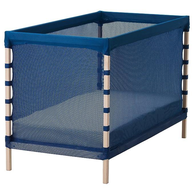 Zigzag Trading Ltd Ikea Flitig Lit Bébé Beechbleu Moyen