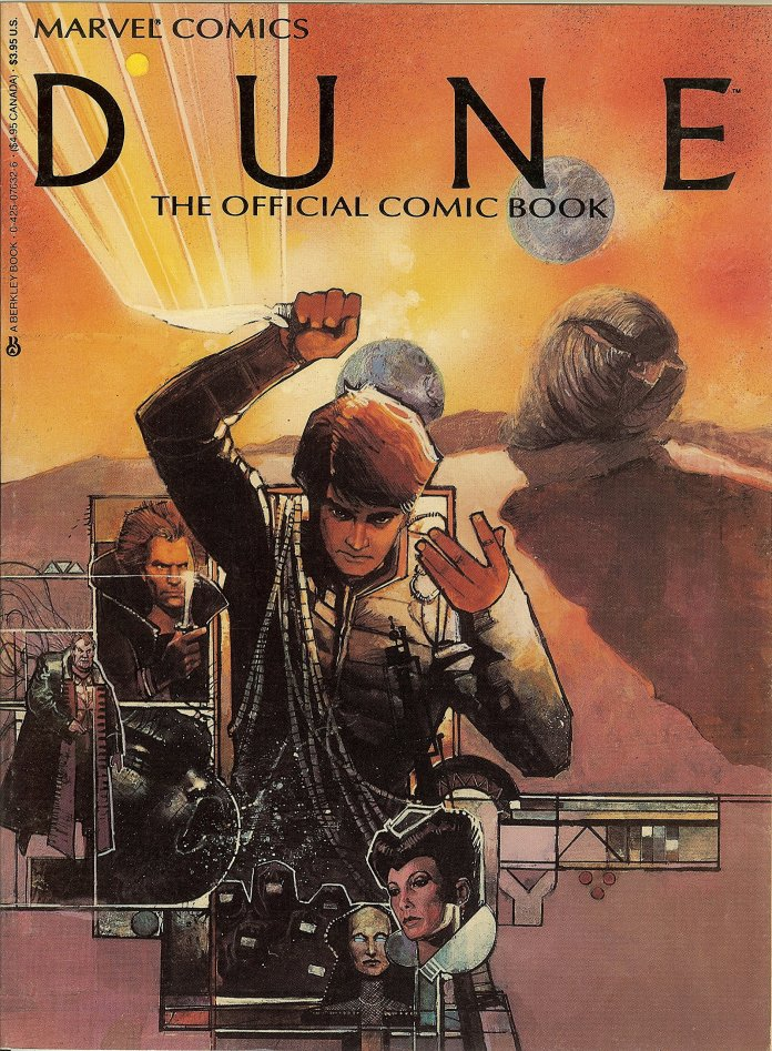 Dune the Official Comic Book: Amazon.co.uk: Marvel Comics Staff:  9780425076323: Books