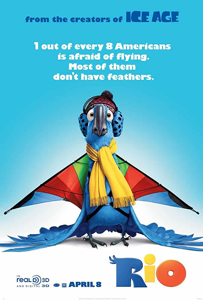 Rio 2011 Hindi Dual Audio 480p BRRip full movie watch online freee download at movies365.cc