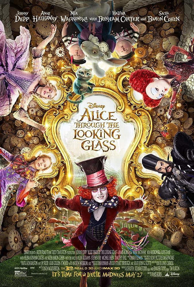 3 films die ik de afgelopen tijd heb gezien #14 Met o.a. Now you see me 2 en Alice Through the Looking Glass