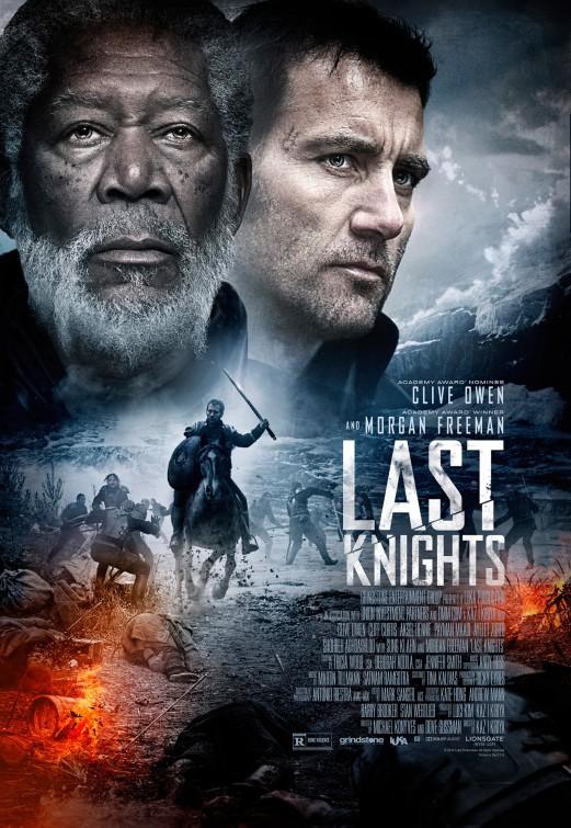 Morgan Freeman and Clive Owen in Last Knights (2015)