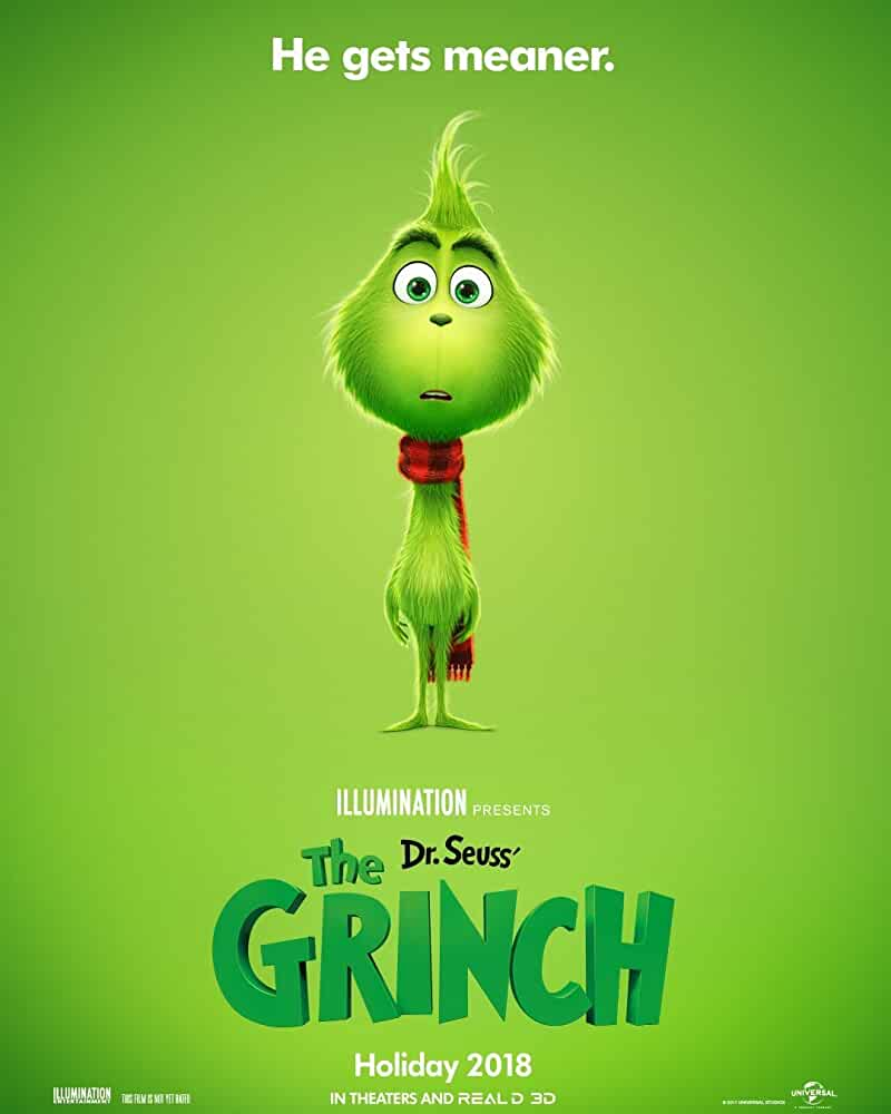 The Grinch TV Spot Featuring Benedict Cumberbatch