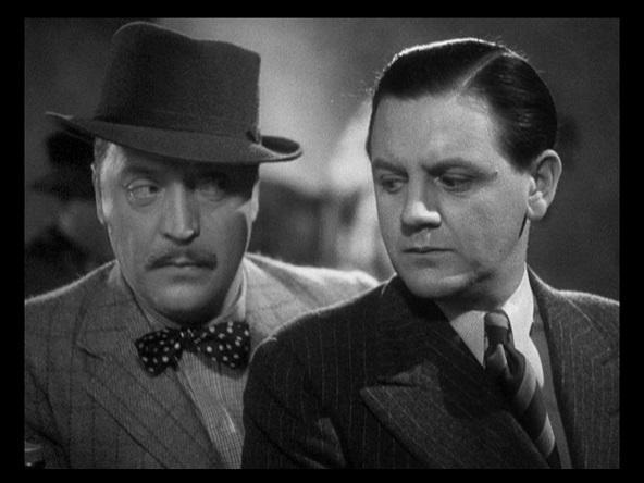 Basil Radford and Naunton Wayne in The Lady Vanishes (1938)