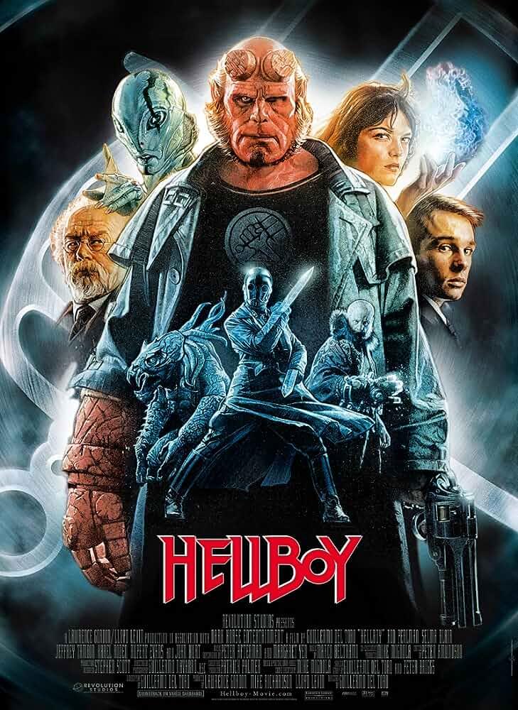 Hellboy 2004 720p BRRip x264 Dual Audio With ESub Watch Online Free Download at www.dlmovies365.com