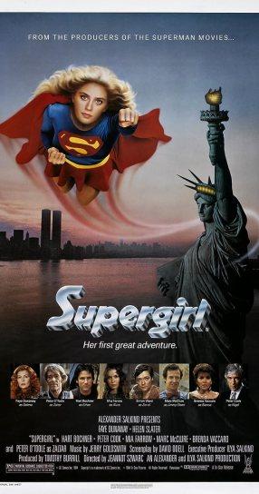 Resultado de imagen para supergirl 1984 movie poster