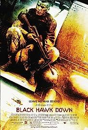 Black Hawk derribado Poster