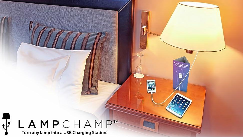 Lampchamp Usb Light Socket Charger Olens Technology