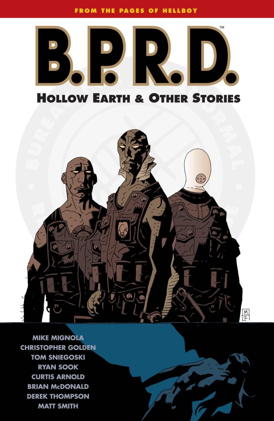 Image result for bprd hollow earth