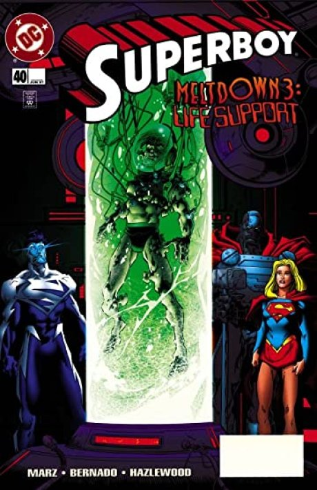 Image result for superboy meltdown