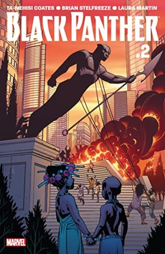 Image result for black panther issue 2 2018