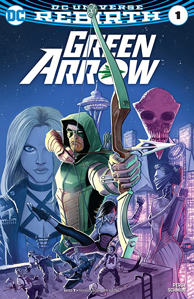 TICGN Green Arrow (2016-) #1