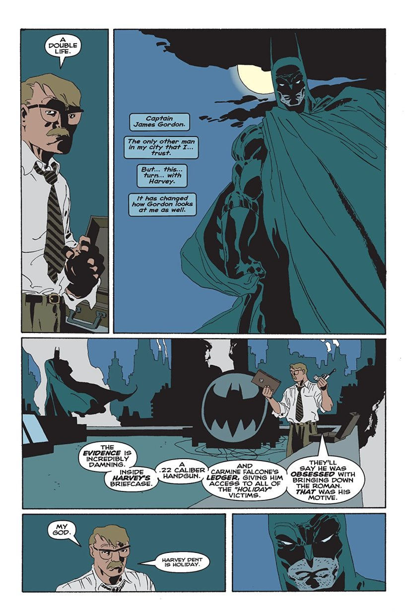 Image result for batman the long halloween