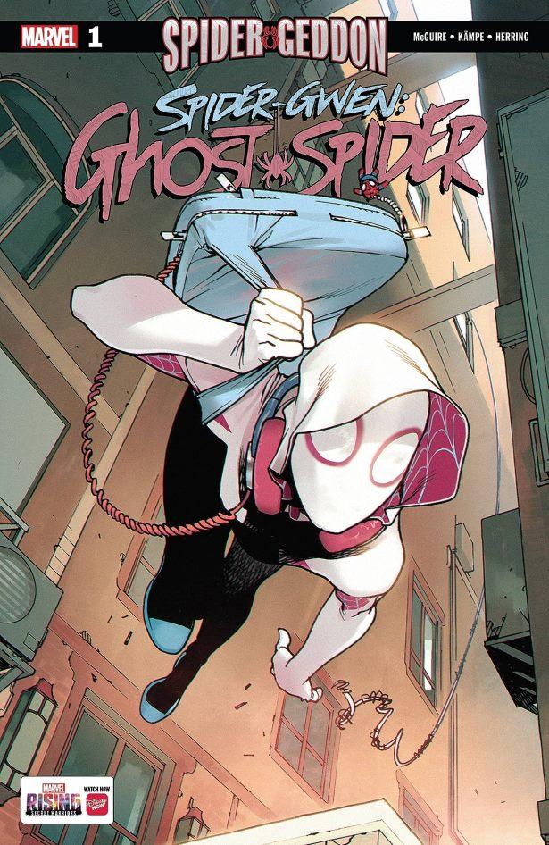 Capa de Spider-Gwen: Ghost-Spider #1 por Bengal.
