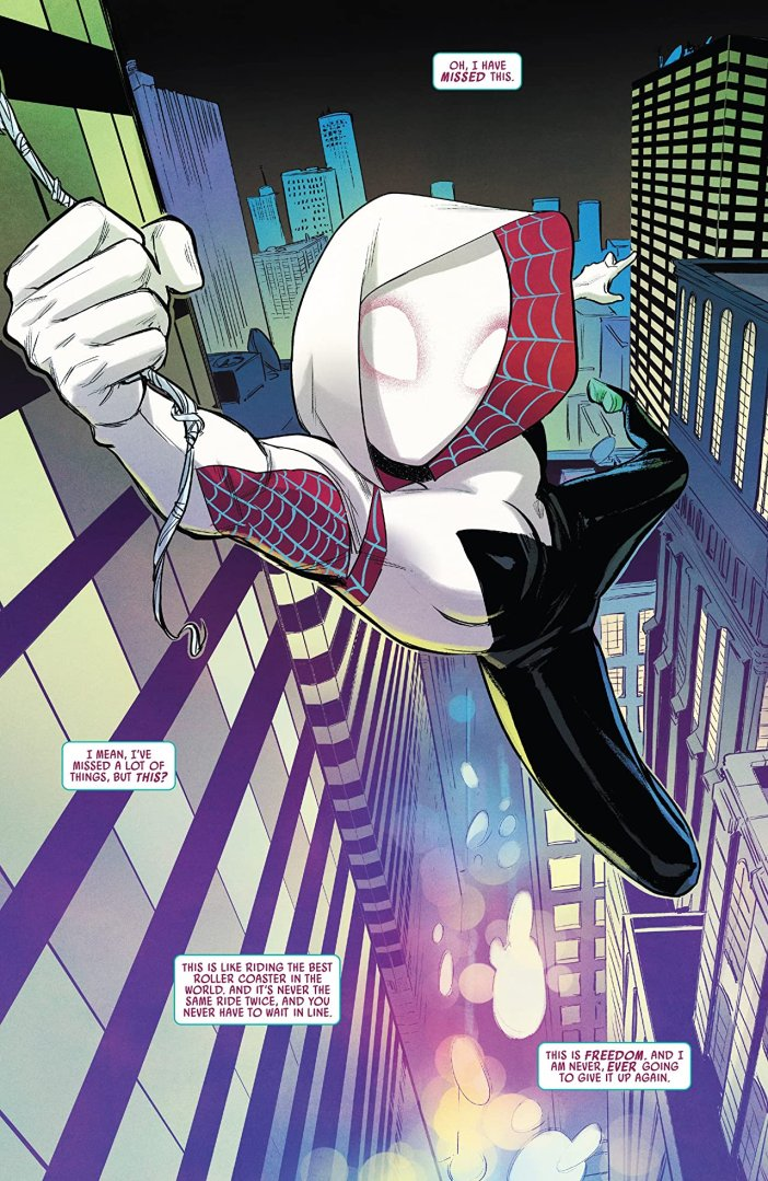 Comic Review: Spider-Gwen Ghost Spider #1 - Sequential Planet
