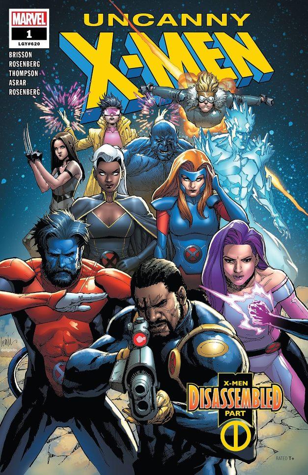 Capa de Uncanny X-Men #1 por Leinil Francis Yu.