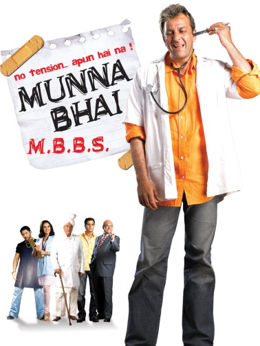 feel-good Bollywood movies Munna Bhai M.B.B.S.