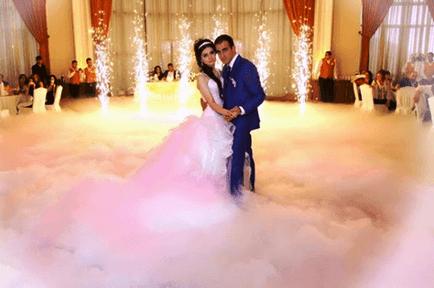 Что такое тяжелый дым на свадьбу - где и как заказать, что для этого нужно