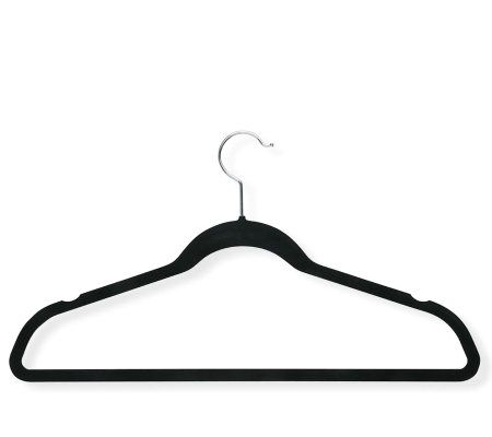 Honey-Can-Do 20-Pack Velvet Touch Suit/Dress Hangers