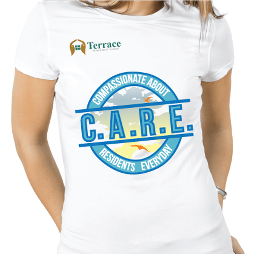 T Shirt Design For Nursing Home Nurses To Wear On Casual