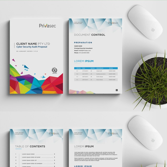 Design A Sleek Ms Word Report Template For A Bunch Of
