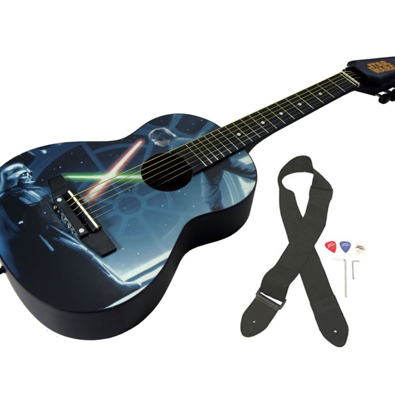 peavey star wars classic luke vs. vader 1/2 size student acoustic 18