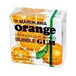 Gomme Marukawa 5.4g saveur orange